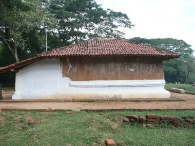 House of statues restored recently at Yudhaganawa