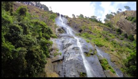 The majestic Bambarakanda falls…