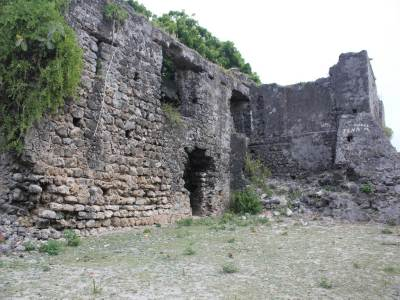 The Dutch Fort ruins is situated within the Hospital premises