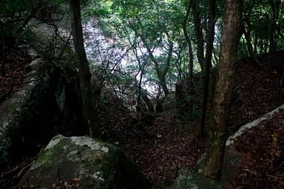 This is the access path from the Ranamure track.