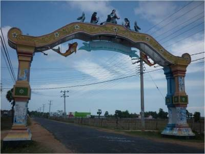 """Wellcome to the City of Singing Fishes"" - Gateway to Batticaloa"