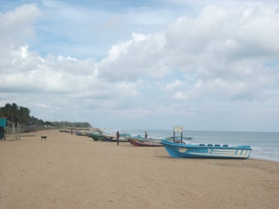 The Nilaweli beach