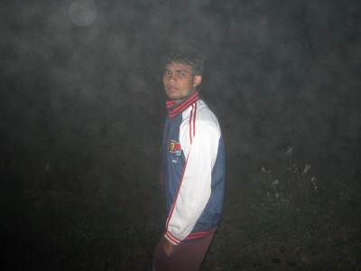 Another night...!!  A misty night .........!!