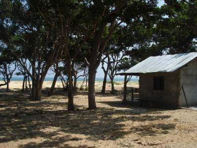 Abandoned Army Camp near the beach – Lavatories are functional