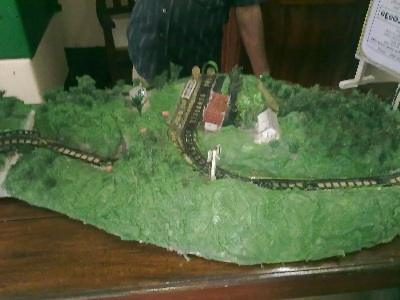Model of demodara railway loop