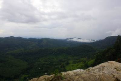 Views from the top - Thanamalwila side