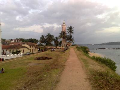 The pathway to the Light House