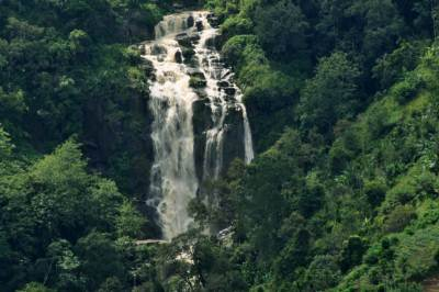 The historical Ravana Falls zoomed