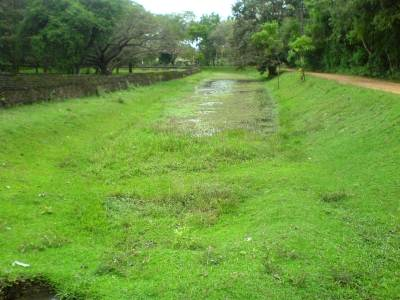 The Moat of the Royal Palace of the King Parakramabahu