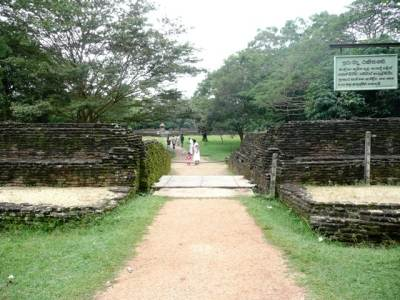 Main entrance to the Royal Palace of the King Parakramabahu