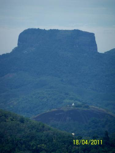 The Bible Rock and the Temple - Kadugannawa