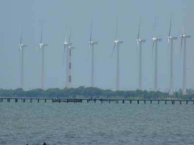 Wind power station at Puttalam