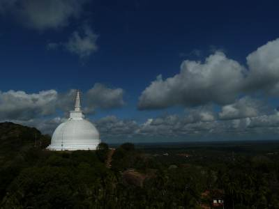 Mihintale – View from top of Aradhana Gala (ආරාධනා ගල)