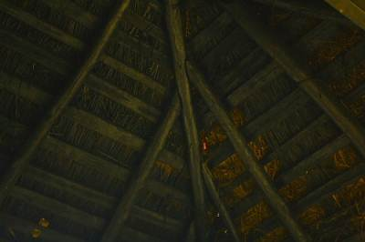 Roof covered by straw