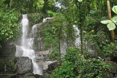 Hul Falls – The left level