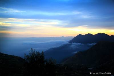 We were mesmerized by the stunning view - Ohiya