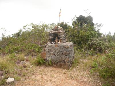 A shrine at the summit