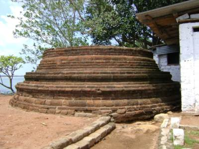 Stupa at the mountain