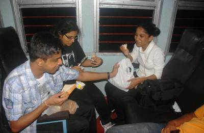 Dinner in the train