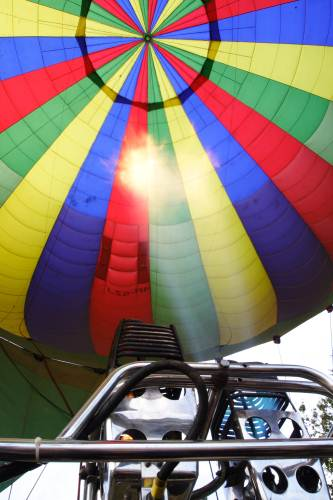 Balloon fully inflated
