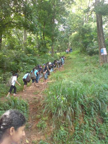 road to Upper Hanthana Bungalow