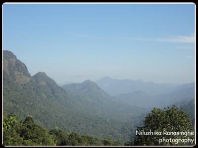 Breathtaking scenery from the top of kottellena