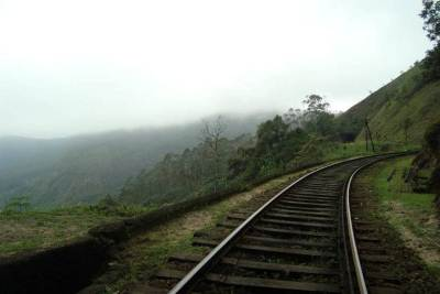 from Tunnel No. 18 towards Ohiya