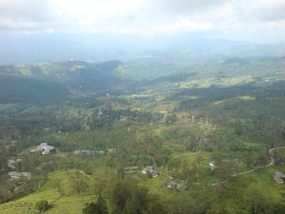 From the summit of Hanthana