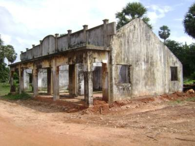 Remnants of Thodaweli Railway Station