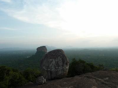 Sigiriya from Pidurangala