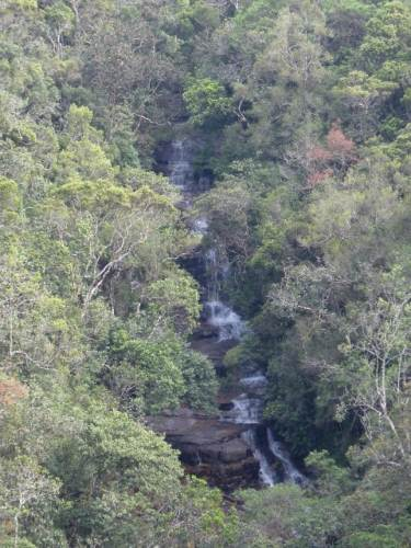 Unknown waterfall close to Nuwaraeliya main road