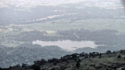 one of the lakes of Minipe and Mahaweli river