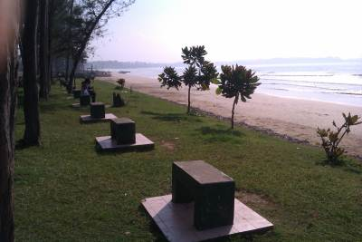 Beachfront Rest Area at Weligama