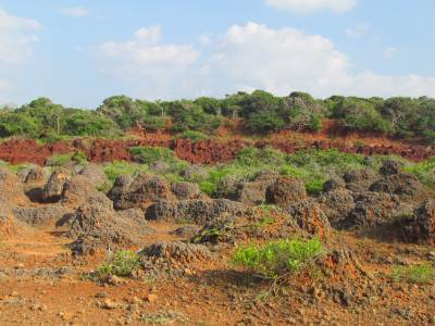 Unique Rock formations at Kudiramale