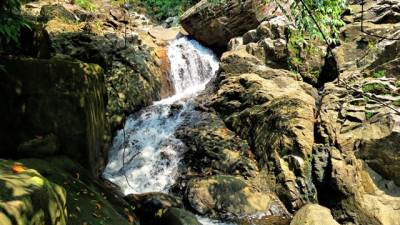 Julee falls lower part