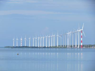 Wind Mills Zoomed - Puttlam Lagoon