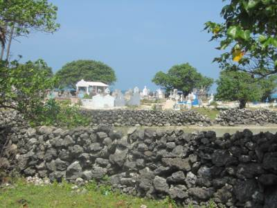 Cemetery behind the Fort