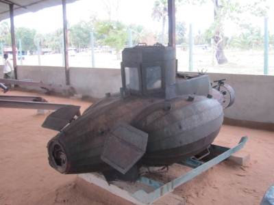 """Muhudu Keelama"" - Remote controlled submarine used for spy work"