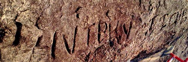 part of the inscription