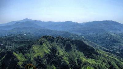 Namunukula seen over little adams peak