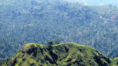 summit of little adams peak
