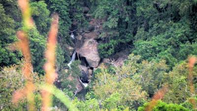 a waterfall of Kirindi oya