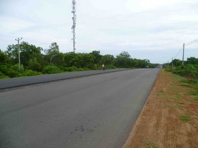 New Kataragama road from hambantota
