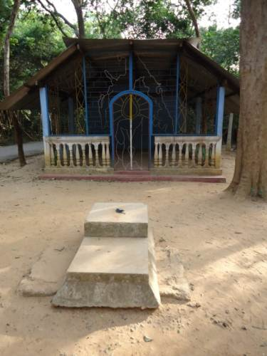 Place where dead bodies of tiger leaders were kept