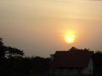 Sun rise – in Mankulam