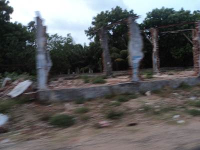 Ruins of Destroyed Railway Stations