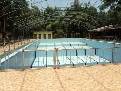 Swimming pool used by Black Tigers