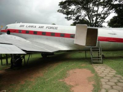 Old Airliner which was used in 1960s