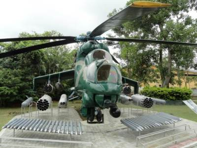 the Flying Crocodile MI-24