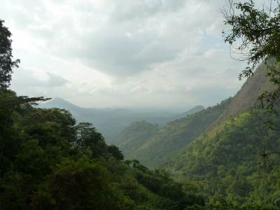 View towards mawanella on the way to ahupini ella..